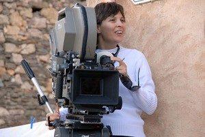 La regista Ilaria Paganelli