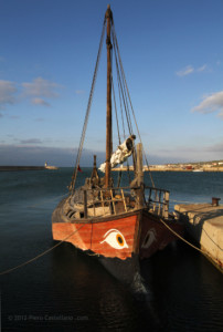Imbarcazione verso Kybele