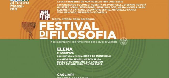 Parte il Festival di filosofia di Cagliari: dal 2 al 4 maggio