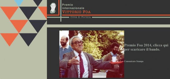 Premio Internazionale Vittorio Foa | BANDO 2014