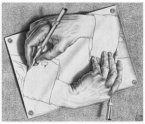 Escher al Chiostro di Bramante