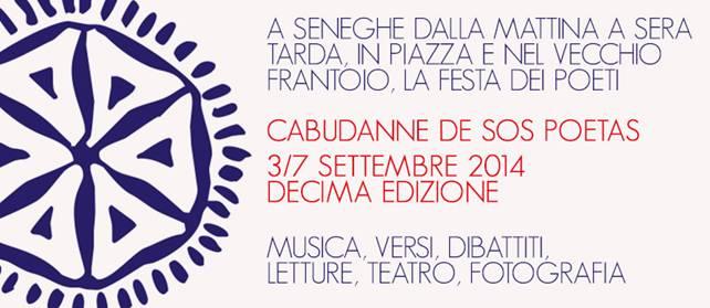 Cabudanne de sos poetas, il festival di poesia di Seneghe (Sardegna) dal 4 al 7 settembre