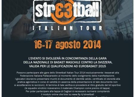 A Cagliari e Quartu la finale nazionale di Streetball Tour 2014
