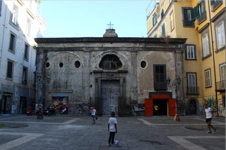 Chiesa dei Santi Cosma e Damiano, Largo Banchi Nuovi, Napoli