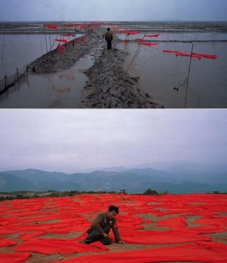 Gao Shiqiang, Scene dal video Red, 2008.