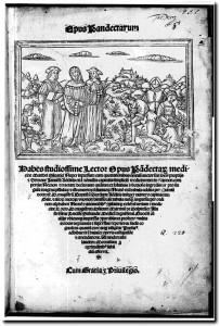 Silvatico Matteo frontespizio Opus pandectarum medicinae 1526