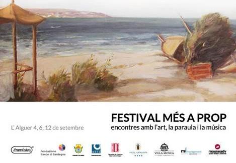 Identità, poesia, suoni e immagini  nel Festival Més a prop ad Alghero