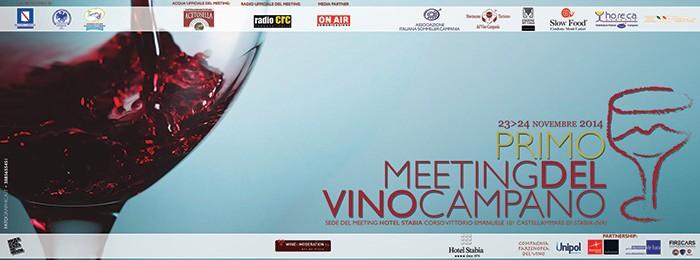 Primo Meeting del Vino Campano all'Hotel Stabia