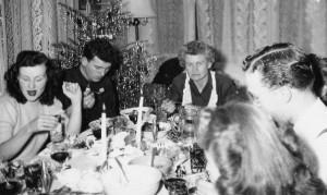 Cena di Natale negli anni Quaranta
