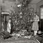 Natale sotto l'albero nel 1920