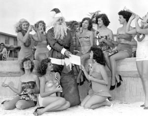Una ragazza fortunata ottiene la chiave della camera di Babbo Natale