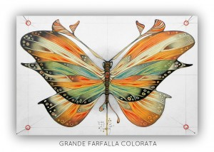 09 GRANDE FARFALLA COLORATA DEF