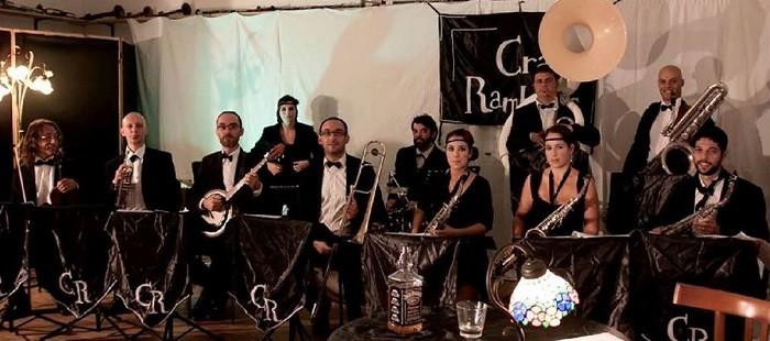 Il jazz anni '20 con l'orchestra dei Crazy Ramblers, al Jazzino di Cagliari