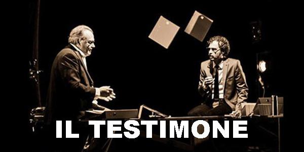 """""""Il Testimone"""": torna in Sardegna il grande teatro civile."""