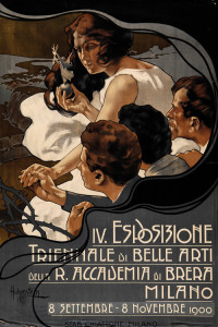 Adolf Hohenstein, IV Esposizione triennale di belle arti Milano, 1900