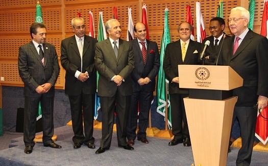 Segretario Generale della Copeam in visita alla sede ASBU di Tunisi