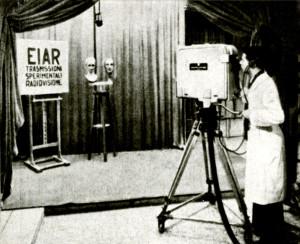 Studio TV EIAR, 1939
