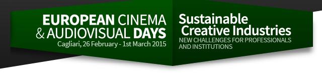 Giornate del cinema e dell'audiovisivo 2015