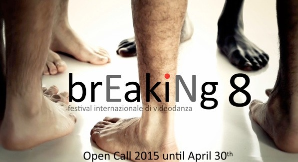 Iscrizione al Festival videodanza Breaking 8