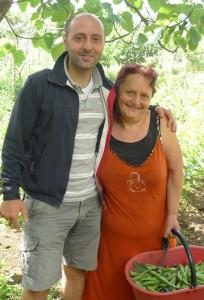 Rocco Iannone e la mamma Giovanna