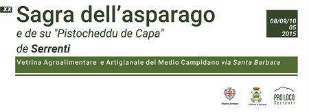 "XX Sagra dell'asparago e de su ""Pistocheddu de Capa"" de Serrenti"