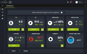 Web Dashboard Controller di Ortotica