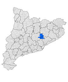 Wikimedia  Vinals comarca moianès