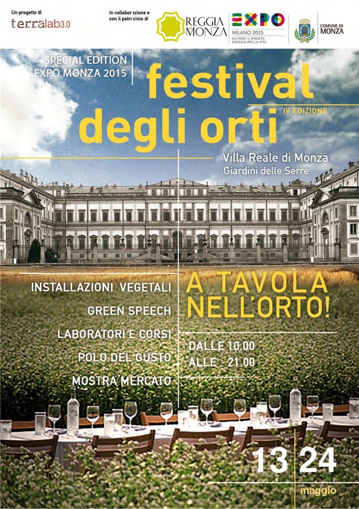 Festival degli orti, Monza