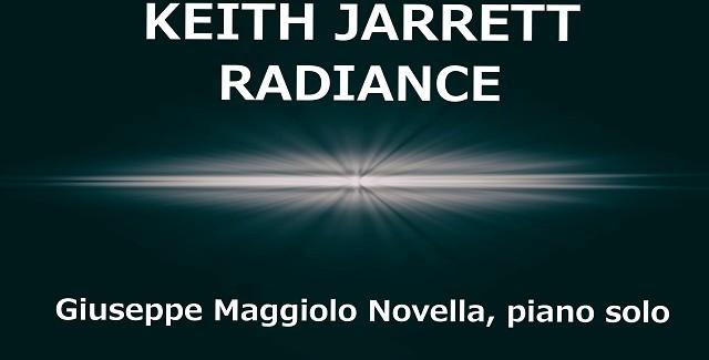 Giuseppe Maggiolo Novella plays Keith Jarrett