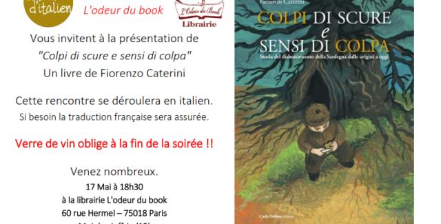 Paris, rencontre avec Fiorenzo Caterini à la librairie L'Odeur du Book
