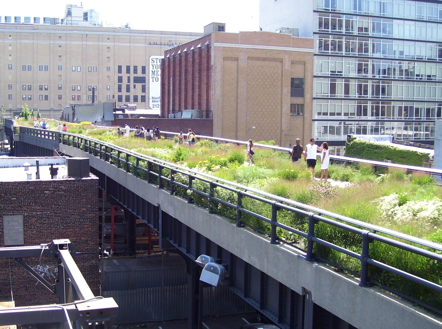 Fig. 3 – High Line Park, New York