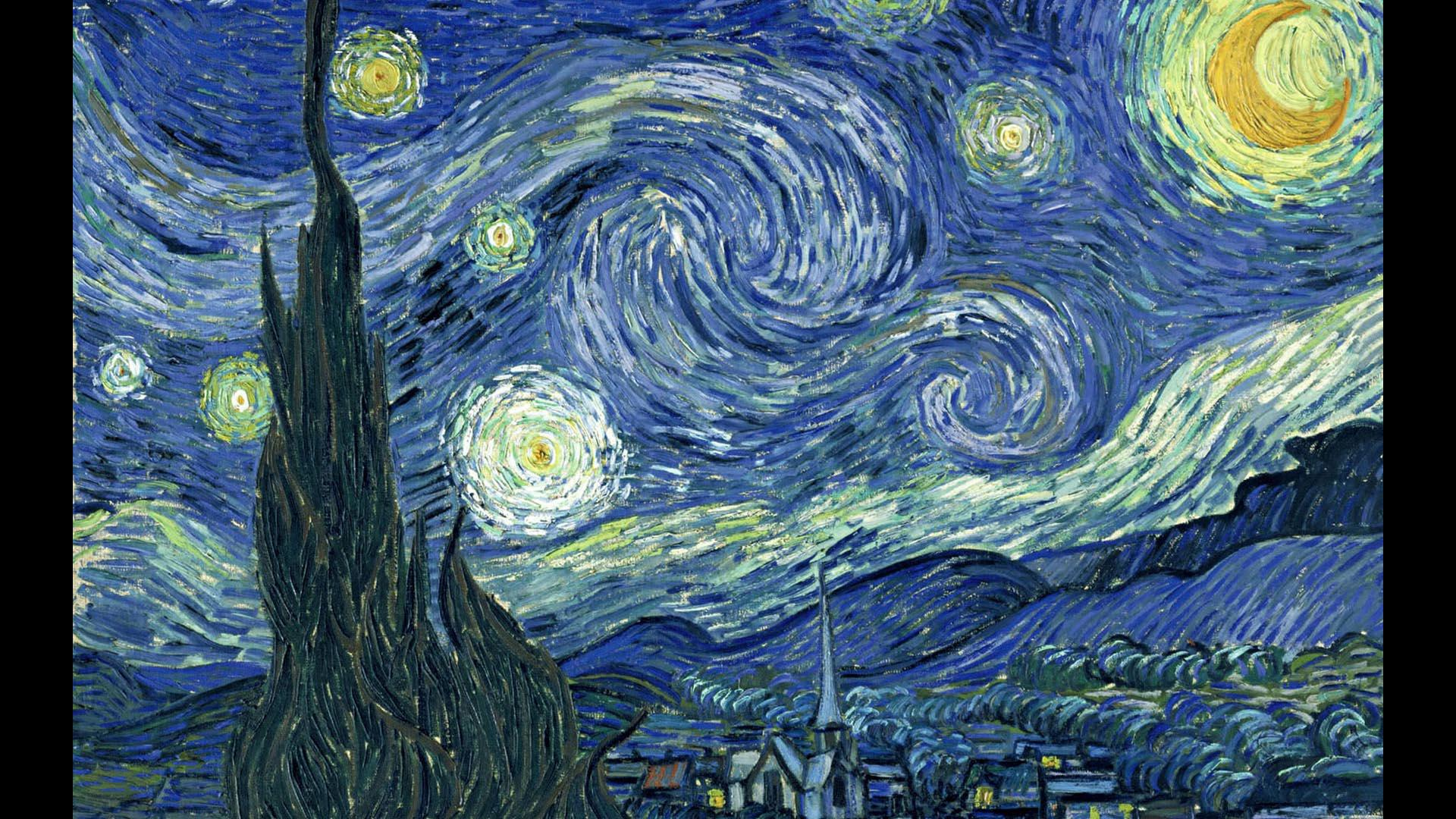 Fig. 13 - Van Gogh, La notte stellata