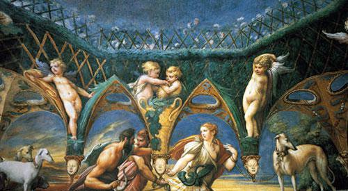 Fig. 6 – Parmigianino, Storia di Diana e Atteone, 1522-24, Rocca San Vitale, Fontanellato, Parma