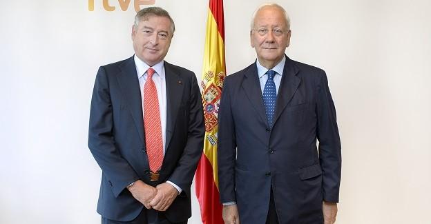 Copeam a Madrid incontra il presidente della Radiotelevisione spagnola