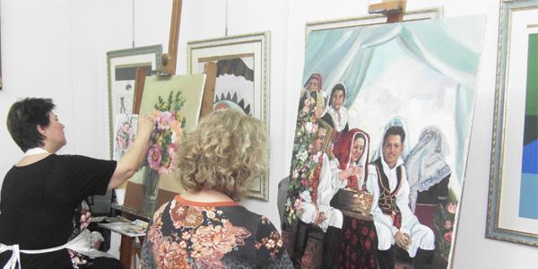 La scuola d'arte Artemisia al Lazzaretto di Cagliari