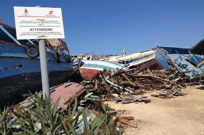 Lampedusa Mirrors al Terra di Tutti Art Festival