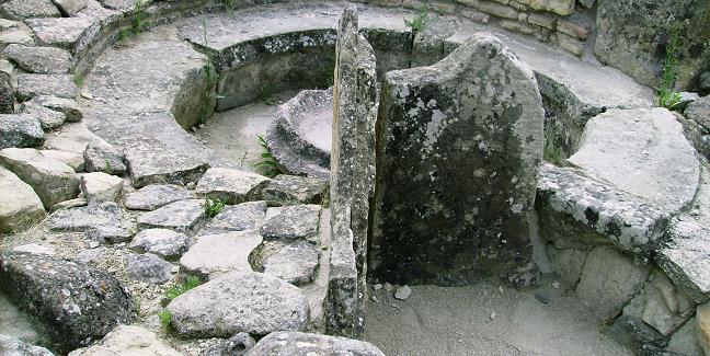 La reggia nuragica di Barumini, patrimonio dell'umanità