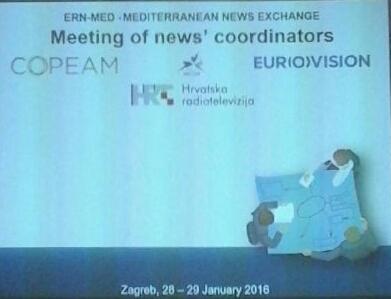 COPEAM a Zagabria: riunione per coordinamento scambio news tra le TV del Mediterraneo