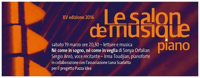 "Le Salon de Musique 2016 ""Piano"""
