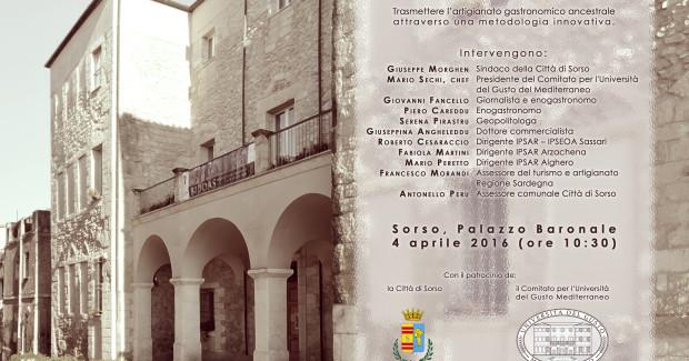 Nasce in Sardegna l'Università del gusto del Mediterraneo
