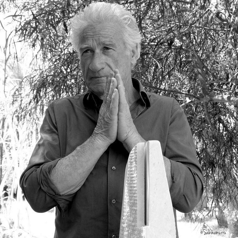 Pinuccio Sciola e le sue Pietre sonore, foto di Sabina Murru.