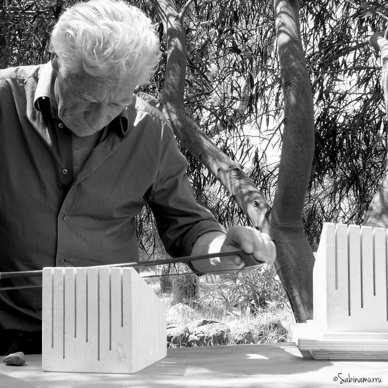 Pinuccio Sciola e le sue Pietre sonore, foto di Sabina Murru
