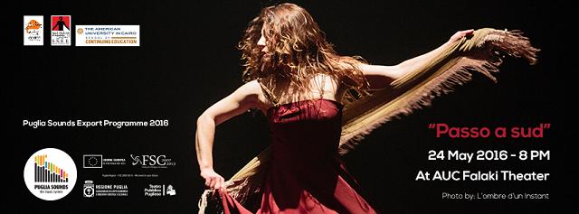 Passo a Sud, spettacolo di danza e musica ispirato alla Pizzica e al Tarantismo al Falaki Theatre – Downtown Cairo