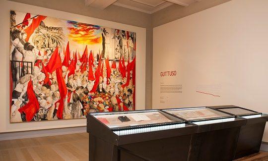 Gramsci. I quaderni del carcere ed Echi in Guttuso in mostra alla Gallerie di Piazza Scala di Milano