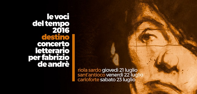 Destino – concerto letterario per Fabrizio De Andrè