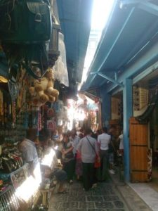 Il suq di Tunisi