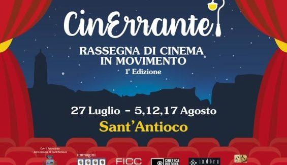 """Al via la prima edizione di """"CinErrante – rassegna di cinema in movimento""""."""