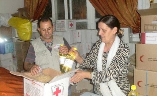 Tra i rifugiati siriani a Damasco