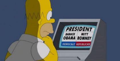 Homer e le elezioni politiche