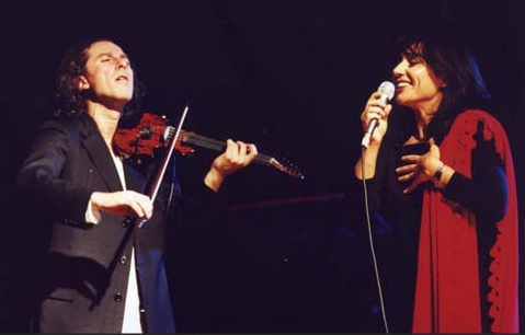 Lino Cannavacciuolo ed Elena Ledda